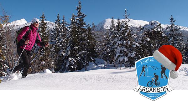 Évadez-vous à Pied, en VTT, à Ski ou à Raquettes