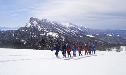 Les Réveillons enneigés en raquettes ou à ski :