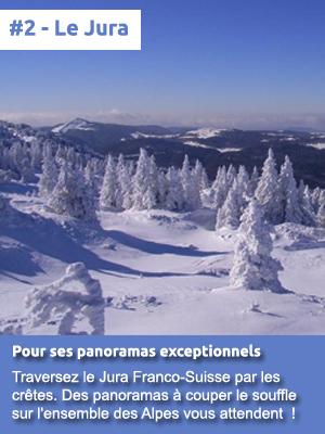 #2 - Le Jura pour ses panoramas exceptionnels
