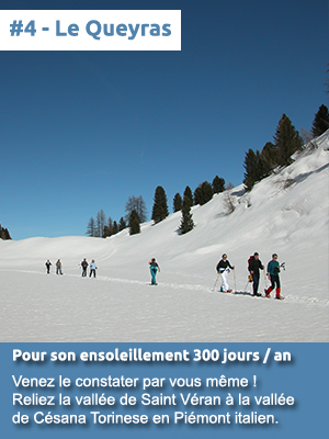 #4 - Le Queyras pour son ensoleillement 300 jours par an