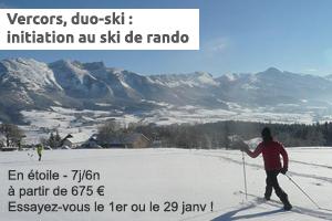 duo ski - ski de fond et ski de rando