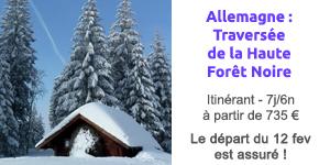 séjour allemagne forêt noire ski de fond