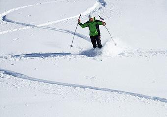 Nevache Ski de randonnée nordique en étoile
