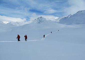 Queyras Ski de randonnée nordique en étoile