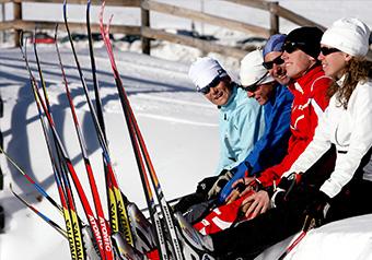 Nevache Ski de Fond en étoile